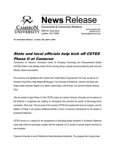 State and local officials help kick off CETES