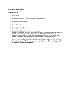 MTSU Faculty Senate Agenda  December 9, 2013 1.  Call to Order