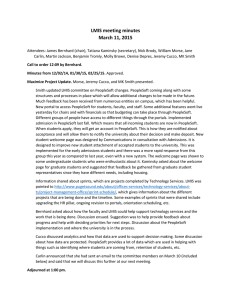 LMIS meeting minutes March 11, 2015