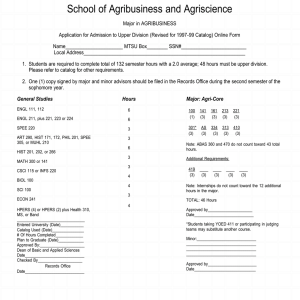 School of Agribusiness and Agriscience