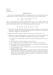 Econ. 811 R. Jones Summer 2006 Homework Set 2