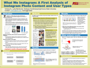 What We Instagram: A First Analysis of Printing: Motivation