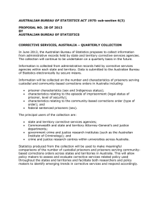 AUSTRALIAN BUREAU OF STATISTICS ACT 1975:  PROPOSAL NO. 28 OF 2013 BY
