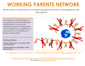 WORKING PARENTS NETWORK