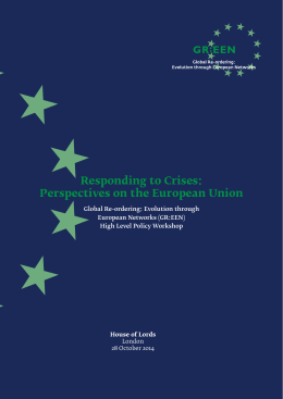 Responding to Crises: Perspectives on the European Union
