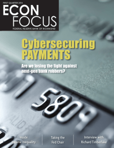 Cybersecuring PAYMENTS Are we losing the fight against next-gen bank robbers?