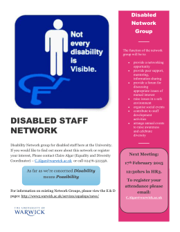 Disabled Network Group
