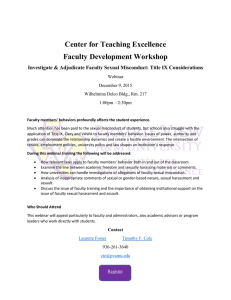 Center for Teaching Excellence Faculty Development Workshop