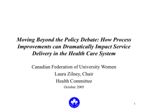 Moving Beyond the Policy Debate: How Process