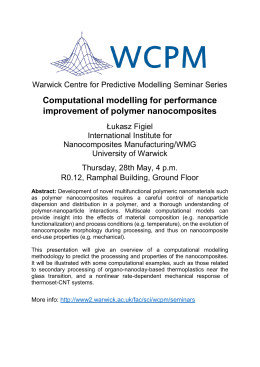 Computational modelling for performance improvement of polymer nanocomposites