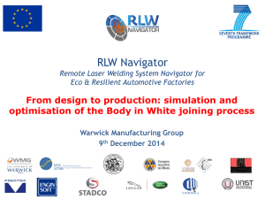 RLW Navigator  From design to production: simulation and