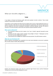 Law What can I do with a degree in…..