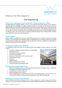 Civil Engineering What can I do with a degree in…..