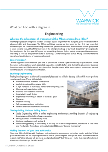 Engineering What can I do with a degree in…..
