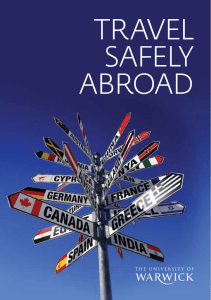 Travel Safely abroad