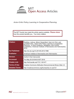 Actor-Critic Policy Learning in Cooperative Planning Please share