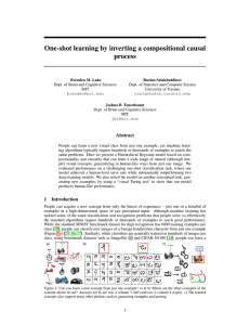 One-shot learning by inverting a compositional causal process