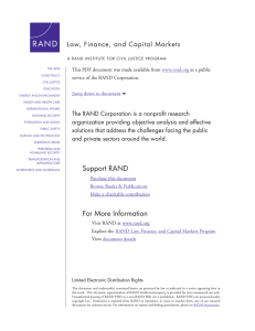 6 Law, Finance, and Capital Markets