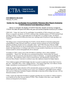 Center for Tax and Budget Accountability Releases New Report Analyzing