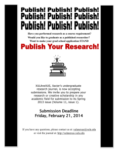 Have you performed research as a course requirement?
