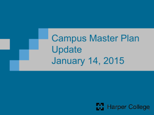 Campus Master Plan Update January 14, 2015