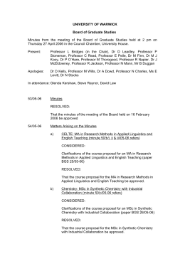 board of graduate studies thesis Institutional review board  the signed etd release form is submitted to the office of graduate studies at the time the thesis or dissertation is uploaded to .