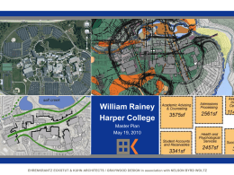 William Rainey Harper College Master Plan May 19, 2010