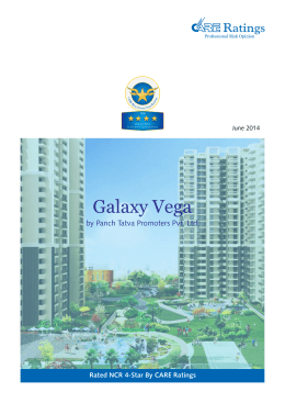 Galaxy Vega by Panch Tatva Promoters Pvt. Ltd. June 2014