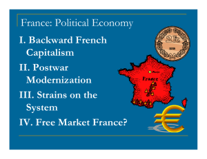 France: Political Economy
