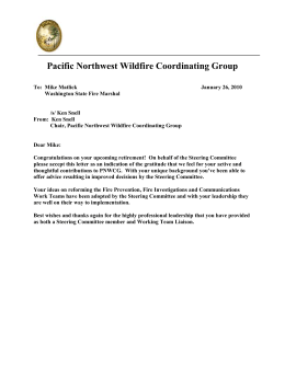 Pacific Northwest Wildfire Coordinating Group