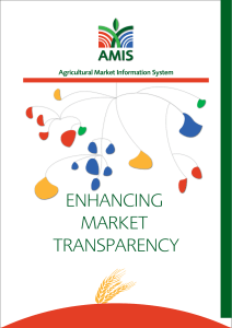ENHANCING MARKET TRANSPARENCY AMIS