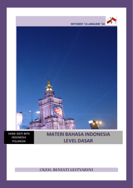 MATERI BAHASA INDONESIA LEVEL