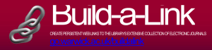 Build-a-Link go.warwick.ac.uk/buildalink  CREATE PERSISTENT WEB LINKS TO THE LIBRARY