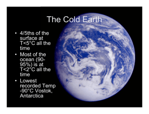 The Cold Earth