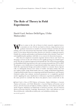 role of theory research papers Senting the theory for the study in qualitative research,the use of theory is much more varied control variables play an active role in quantitative studies.