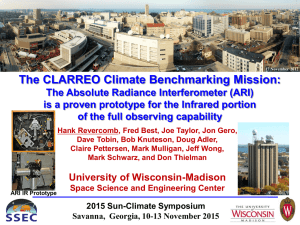 The CLARREO Climate Benchmarking Mission: