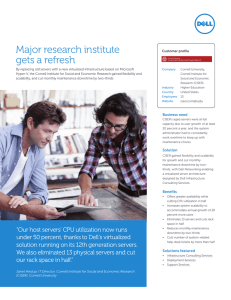Major research institute gets a refresh