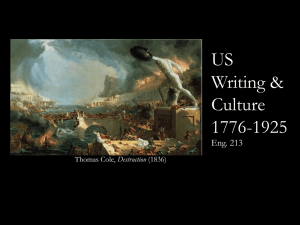 US Writing & Culture 1776-1925