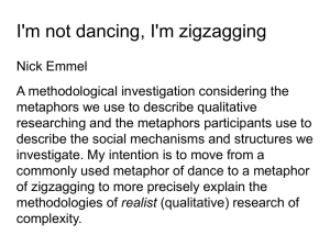 I'm not dancing, I'm zigzagging
