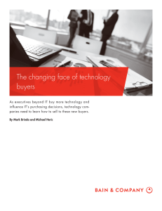 The changing face of technology buyers