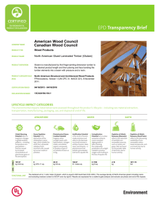 transparency brief American Wood Council