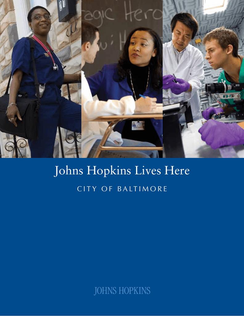 Johns Hopkins Employment >> Johns Hopkins Lives Here