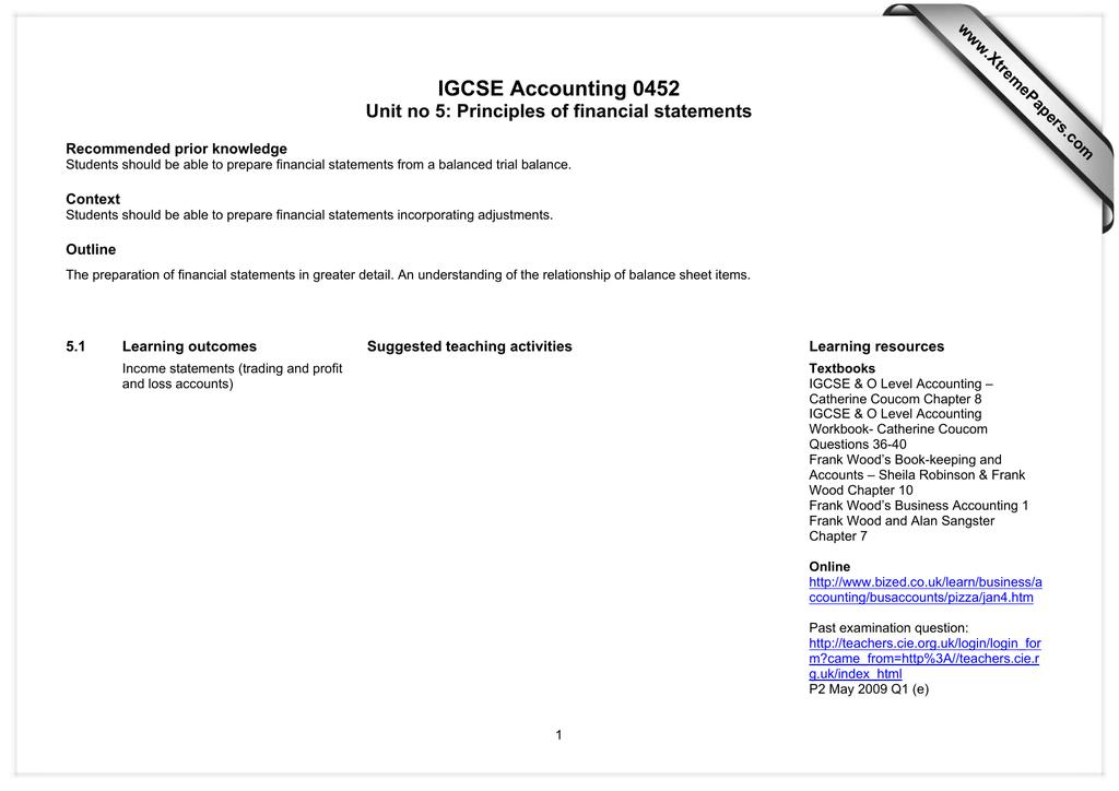 Igcse Accounting Student Book