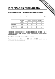 INFORMATION TECHNOLOGY International General Certificate of Secondary Education www.XtremePapers.com