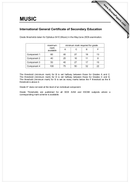 Recognition of the General Certificate of Education (GCE) in Germany