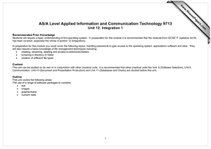 AS/A Level Applied Information and Communication Technology 9713  www.XtremePapers.com