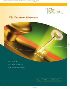 The Southern Advantage