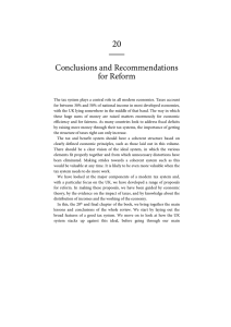 20  Conclusions and Recommendations for Reform