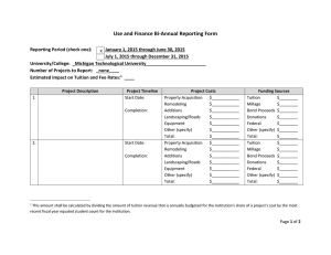Use and Finance Bi‐Annual Reporting Form