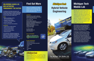 Hybrid Vehicle Engineering Michigan Tech Find Out More